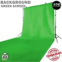 Kain background Backdrop Foto studio Green Screen 100gr