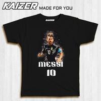 KAIZER RH-0575 Kaos Sepak Bola Soccer Lionel Messi 10 - Sport - S