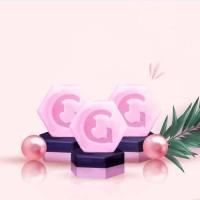 2 Glumory Black Pink Soap Dapat 3