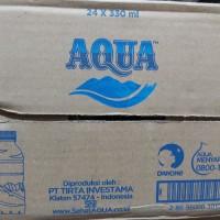 AQUA 330 ml botol mini(1karton)
