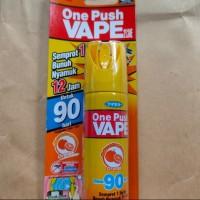 Vape One Push 90hari (malam) / obat nyamuk fumakilla/spray anti nyamuk