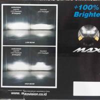 Lampu Utama Nmax Autovision Headlight Headlamp N-max Pcb Led Cree 18w