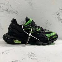 Balenciaga Track 2  Black x Green