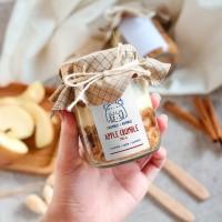 Dessert Box APPLE CRUMBLE pie pai apel enak Premium Homemade S/M/L - M