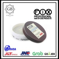 POMADE FIX PROFESSIONAL CLAY DOH HAIR WAX 80gram (FREE SISIR SAKU)