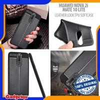 Huawei Nova 2i - Leather Look TPU Soft Case Casing Cover ORIGINAL