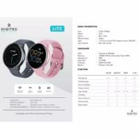 Jam Tangan Pria Atau Wanita Digitec Lite Original Smart Watch