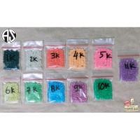 Refill 50pcs Mainan Crystall Aquabeads Aqua Bead Beads Isi Ulang