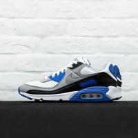 Sepatu Sneakers Nike Air Max 90 Hyper Royal Blue Original 100% BNIB