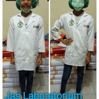 Baju/kostum karnaval jas laboratorium anak size 1-4 (tk)