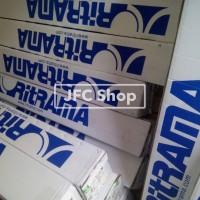 Bahan Stiker RITRAMA - RI 143 WHITE (GLOSSY) 80 Mic Uk. 1.05 x 50 M