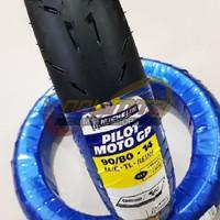 Ban Motor Tubeless Michelin Pilot Moto GP 90/80 - 14 Vario Beat Scoopy