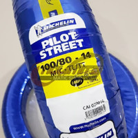 Ban Motor Tubeless Michelin Pilot Street 100/80 - 14 Vario Beat Scoopy