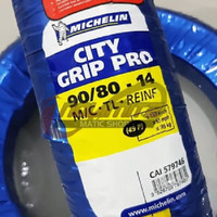 Ban Motor Tubeless Michelin City Grip Pro 90/80 - 14 Vario Beat Scoopy