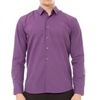 Odza Classic Basic Long Shirt Purple