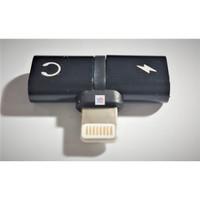 Lightning Splitter 2 in 1 Audio Converter Splitter iPhone 7 8 X Ipad