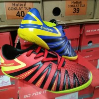 Sepatu futsal anak ARDILES size 30-33 merah/biru original
