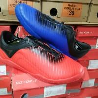 Sepatu futsal anak ARDILES size 34-37 merah/biru original