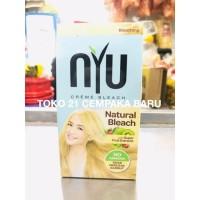 NYU Creme Bleach NATURAL BLEACH Kemasan BOX | Pewarna Nyu Bleaching