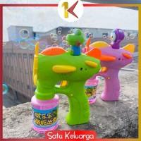 SK-M34 Mainan Anak Bubble Gun Karakter Mainan Tembakan Balon Sabun