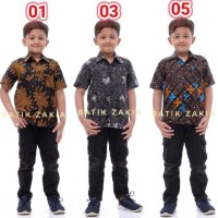 Baju Batik Anak Laki Usia kode BK-11 (PART 3)