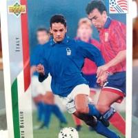 Kartu klasik FIFA WORLD CUP Roberto Baggio (Italy)