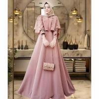 Caca dress baju gamis pakaian wanita fashikn muslim