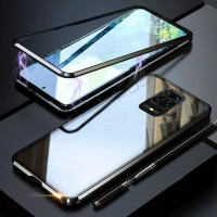 REDMI NOTE 9 / NOTE 9 PRO MAGNETIC CASE TEMPERED GLASS BACK COVER