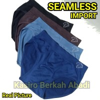 Celana Dalam Pria Seamless Tanpa Jahitan CD Cowok Underwear Pria