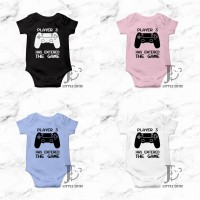 Jumper Bayi Player 3 Has Entered The Game Baby Romper - Little Josie