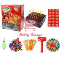 Blast Box Boom Balloon Game Memecahkan Balon Mainan Anak Keluarga