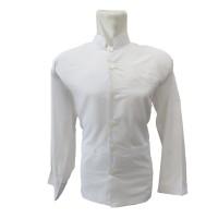 Baju Jas Koko Zaweeya Putih Polos