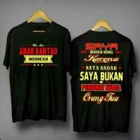 ANAK RANTAU INDONESIA/KAOS DISTRO /BAJU COWOK /TSHIRT PRIA /PAKAIAN