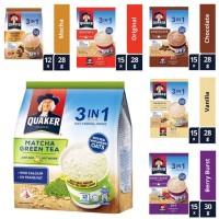 Quaker 3in1 Instant Oat Cereal Drink