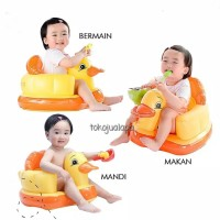 Kursi Sofa/Tempat Duduk Bayi Balon Motif MURAH (TANPA MUSIK)