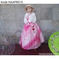 hanbok anak baju adat tradisional korea costume kostum haapr015