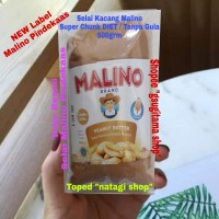 Selai Kacang Malino Diet Keto Super Chunck 500gram