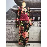 Yukata kimono baju adat tradisional jepang obi kostum costume
