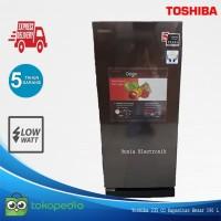 Kulkas 1 Pintu Toshiba GR-RD235CC Kapasitas Jumbo 190 L Tinggi 128 CM