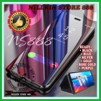 HUAWEI HONOR PLAY 7A CLEAR VIEW STANDING FLIP COVER MIRROR HARD CASE