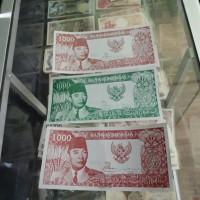 uang kuno 1000 soekarno 1964 uka uka