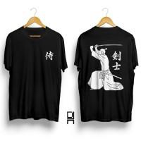 BIG SALE !!! Kaos distro pria / T-shirt pria / Baju pria Kanji Samurai