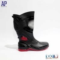 AP BOOT sepatu boots MOTO3 MOTO 3 safety hitam merah black red 38-45