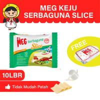 MEG Keju Serbaguna Slice 10 slices Twin Pack - Free Lunch Box