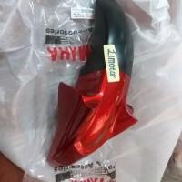 Spakbor depan yamaha Scorpio Z new original merah