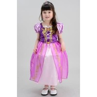 Baju Anak Dress Kostum Princess Rapunzel