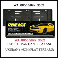 Tempat Dudukan Plat Nomor Mobil / Frame Plat No / Cover Plat No Mobil