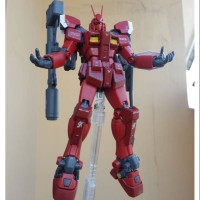 Bandai MG 1100 Gundam Amazing Red Warrior sudah rakit