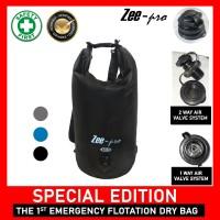 15 Liter Dry Bag Zeepro / Tas Travelling Waterproof Snorkeling Renang - Hitam