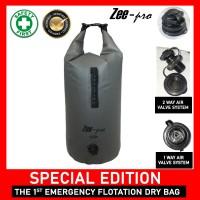 Dry Bag 30 Liter Deluxe Zeepro Waterproof / Tas Pantai Anti Air - Hitam